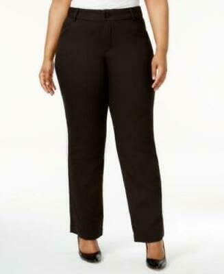 Lee Womens Plus Monaco Eased Fit No Gap Dress Pants