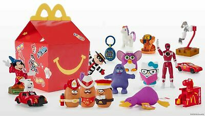 McDonalds 40th Anniversary Happy Meal Toys 2019 Retro NEW SEALED