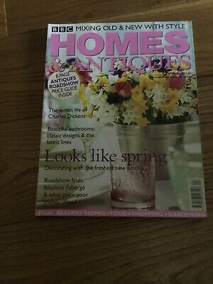 Homes And Antiques April 2002