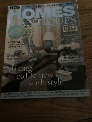 Homes And Antiques Sept 2002