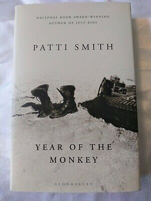* Signed* Patti Smith Year Of The Monkey First Edition
