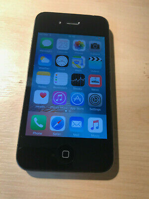 Apple iPhone 4s 8GB (o2) Good Working Condition
