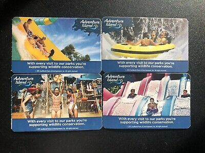 4 Pack Single Day Admission For Adventure Island Tampa FL Expires July 10, 2020