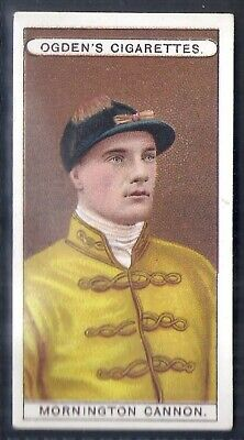 Ogdens-Owners Horse Racing Colours & Jockeys (Blue Back)-#45- Cannon