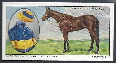 Ogdens-Prominent Racehorses Of 1933-#18- Top Quality Horse Racing Card!!!