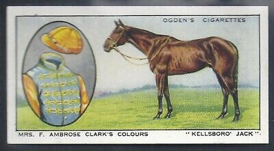 Ogdens-Prominent Racehorses Of 1933-#20- Top Quality Horse Racing Card!!!