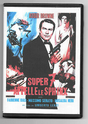 Dvd Vf Super 7 Appelle Le Sphinx  1965