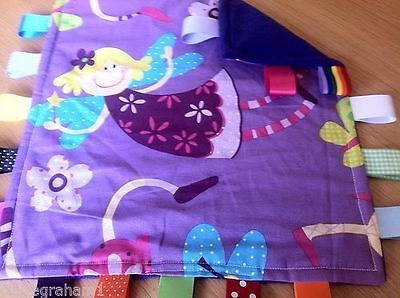 Fairy Baby/Toddler Taggy Blanket/Comforter/Gift *****Many Options*****