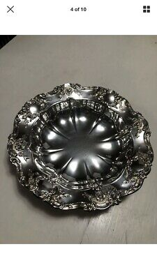 Towle Old Master Vintage Silverplate Bowl Centerpiece 11 Inch With Box