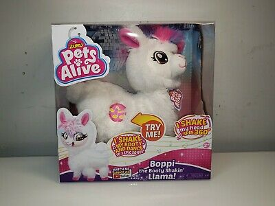 White - Boppi The Bootie Shakin Llama - Pets Alive - Made By Zuru - New 2019