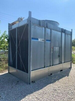 Marley Cooling Tower 259 Ton Stainless Steel Cold Water Basin SN# NC32118M