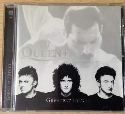Queen + Greatest Hits Iii Cd Ex-Condition