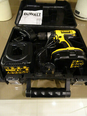 Dewalt DC725 Cordless Drill with two batteries - Goo conditon
