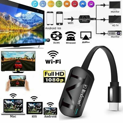 Wireless HDMI Dongle TV Stick Miracast Airplay DLNA For Smart Phones Tablet PC