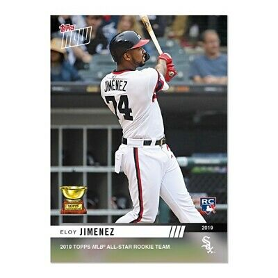 2019 Topps NOW RC-6 Eloy Jimenez RC Chicago White Sox ~ Rookie Cup