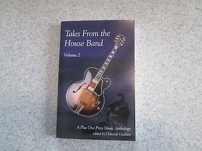 Tales From The House Band Volume 2 Edited By Deborah Grabien Signed Copy