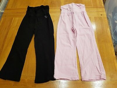 2 x TU Jogging Bottoms (Pink & Black) - 4 years - Combined P&P Offered