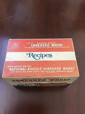 Shredded Wheat Recipe Box. ( Niagara Falls )