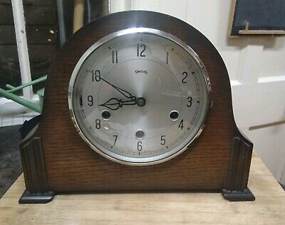 Smith's Westminster Chiming Howard Mantle Clock