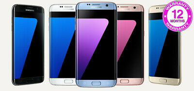 Samsung Galaxy S7 Edge SM-G935F 32GB / 64GB / 128GB - All Colours and Networks