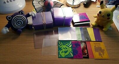 Pokemon Cards 5 Toploaders And 4 Sleeves Ultra Pro, Pick And Choice Yours