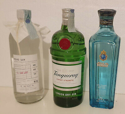 Star Of Bombay Tanquery Export VL92 Gin Stock Lotto 3 Bottiglie 70cl