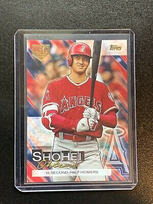 2019 Topps Update Shohei Ohtani Highlights 150 Years /150 Gold Stamp Target SO16