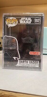FUNKO POP! Darth Vader - Target Exclusive Futura 157 sealed with Hard Stack