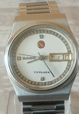 Rado Voyager Day And Date Automatic 17Jewels