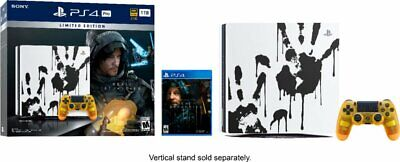 Sony PlayStation 4 Pro 1TB Console with Death Stranding Video Game Bundle PS4