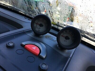 Smart Roadster 452 boost and temperature gauges