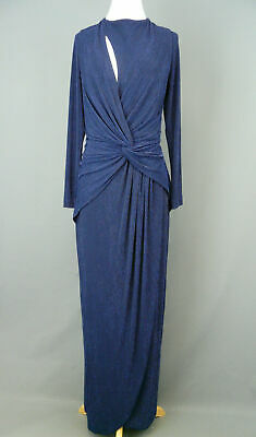 Dress The Population Cutout Knot Gown MSRP $318 Size XL # 3А 1180 NEW