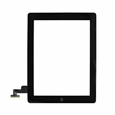for iPad 2 Digitizer Black, adhesive incl