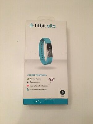 Fitbit Alta Activity Tracker Fitness Wristband - Teal Size Small - FB406TES