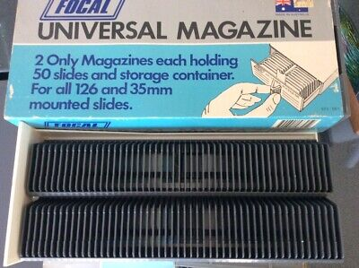 15 Slide magazine boxes - 2 cartridges per tray x 15 trays. Price for the lot.
