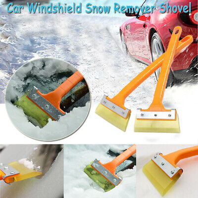 Long Handle Snow Shovel Window Ice Scraper Car Tool Windshield Cleaning Removal