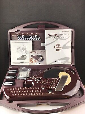 Suzuki Q Chord QC-1 Digital Songcard Guitar with 3 Cards, Instructions, Booklets