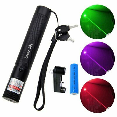 Laser 301 Pointer Funny Ultra Bright Visible Beam Astronomy Lazer Pen