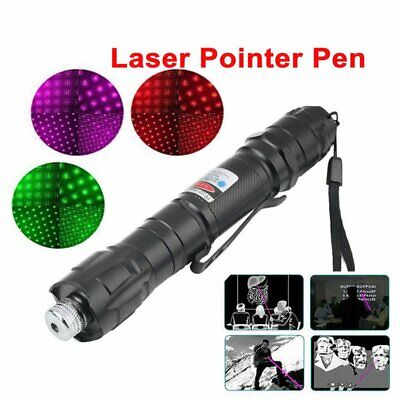 Professional 1mw 009 Red Laser Pointer Light Pen Lazer Beam +Battery Charger