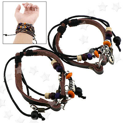 2 x Lock and Key Friendship Lovers Couples Bracelet Newest Set Aniversary Gift