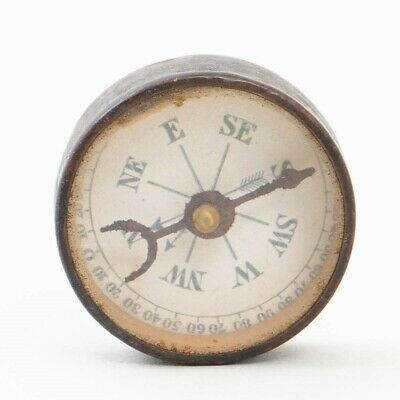 "Antique 1880s Quack Medicine ""Dr. Scotts Electric Brush"" Testing Compass 1"""