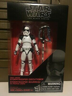 "Star Wars The Black Series TBS 3.75"" First Order Executioner Hasbro"