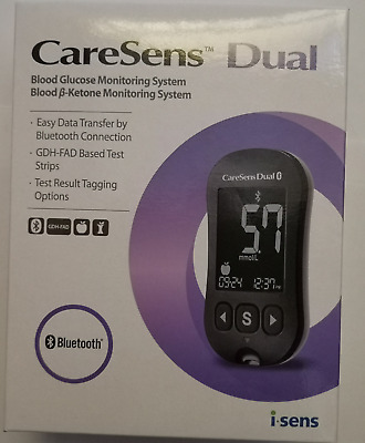 CareSens DUAL Blood Glucose and Ketone Monitoring System NEW