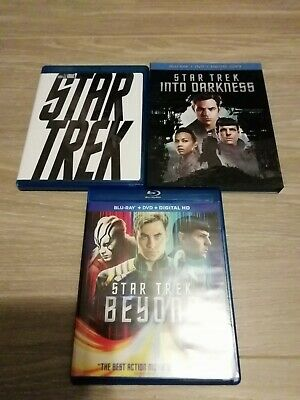 Star Trek Kelvin Trilogy Blu-ray 2009 Into Darkness Beyond Target Bonus Disc