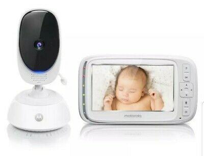 "NEW Motorola 5"" Video Baby & Home Monitor with Remote Pan Scan (COMFORT75)"