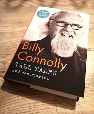Billy Connolly SIGNED NEW Hardback Book Tall Tales & Wee Stories Autographed HB