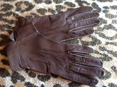 Dent vintage ladies gloves With Small Cuff....Labelled  Size 6 1/2