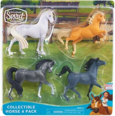 NEW Spirit Horse Collection 4Pk from Mr Toys