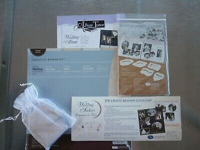 CREATIVE MEMORIES WEDDING Paper & Sticker Bundle - BNIP