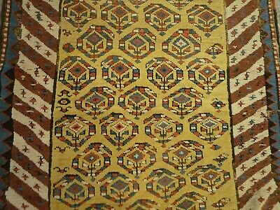 "Antique Shirvan Caucasian runner   ( 9ft.2"" x 3ft.3"" )"